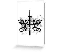 Dragons  Sword Greeting Card