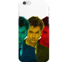 David Tennant colours iPhone Case/Skin