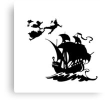 Peter Pan Pirates Canvas Print