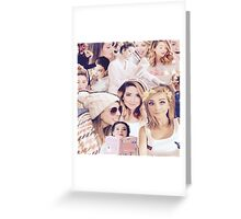 Zoe Sugg - Zoella Collage Greeting Card