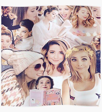 Zoe Sugg - Zoella Collage Poster