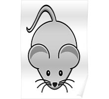 Mouse, Cute, Cartoon Poster