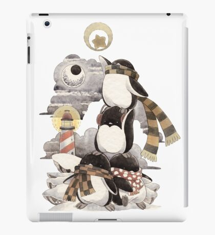 Penguins intrepid iPad Case/Skin