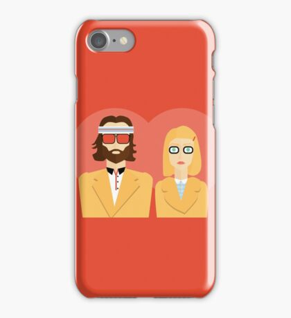 Margot and Richie Tenenbaum  iPhone Case/Skin
