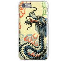 Chinese Dragon Stamp iPhone Case/Skin