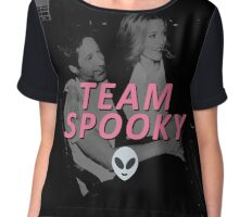 Team Spooky Chiffon Top