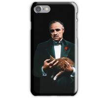 The Godfather's Cat iPhone Case/Skin