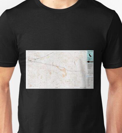USGS TOPO Map California CA Newberry Springs 299127 1977 100000 geo Unisex T-Shirt