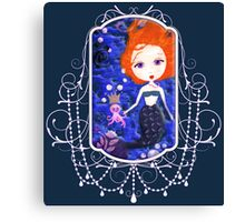 A Mermaid Kind of Day Canvas Print