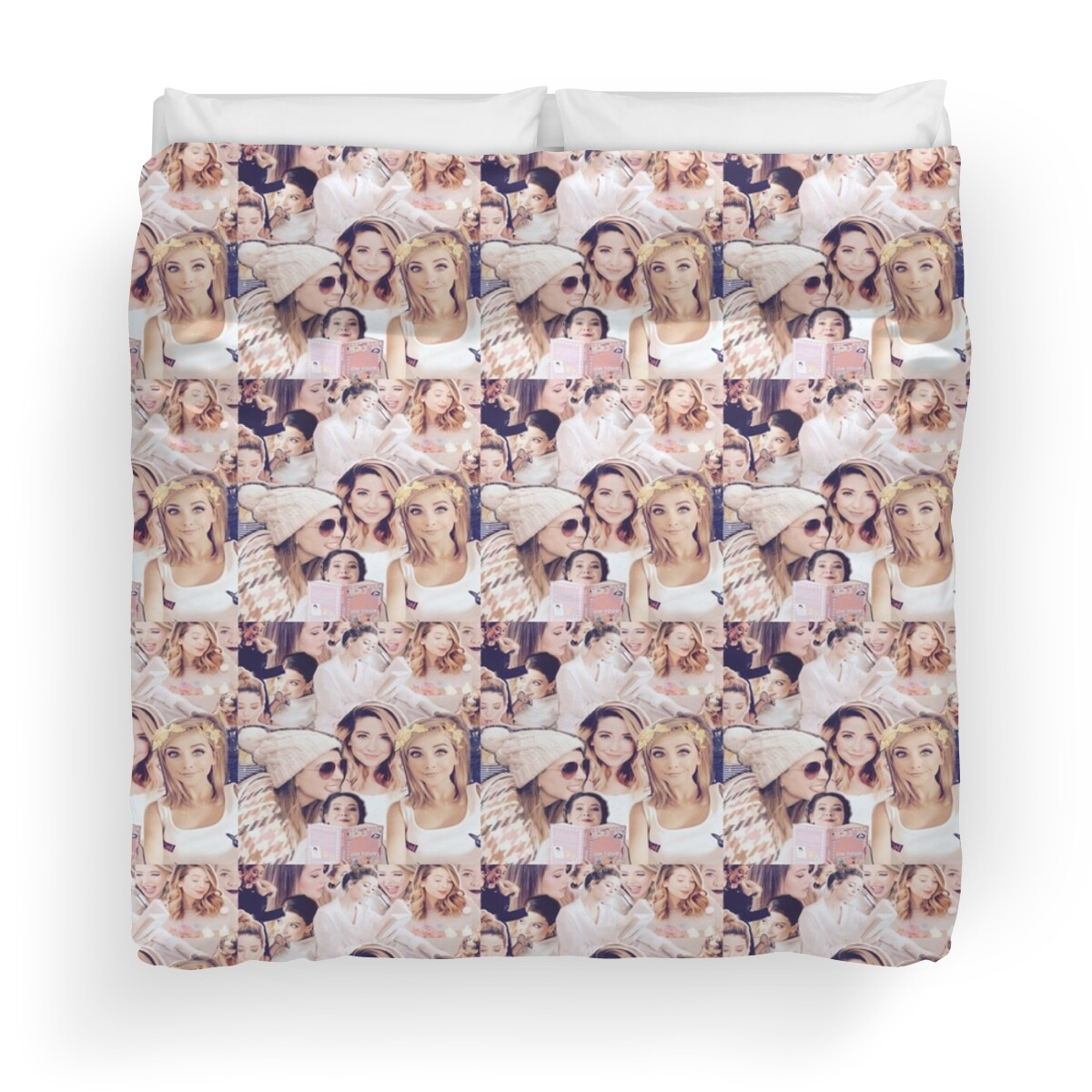 Zoella Throw Pillows : Zoella: Duvet Covers Redbubble
