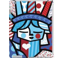 freedon- romero britto iPad Case/Skin