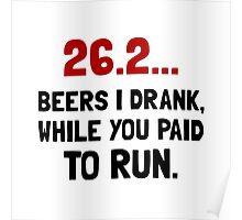 26 Beers Run Poster