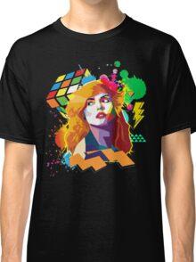 Blondie Pop Art 80's Design Classic T-Shirt