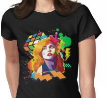 Blondie Pop Art 80's Design Womens Fitted T-Shirt
