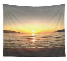 Autumn Sunset Wall Tapestry