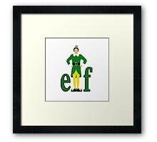 Elf, Buddy the Elf Framed Print