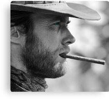 Mr. Eastwood Canvas Print