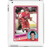 Steve Yzerman Rookie Card iPad Case/Skin