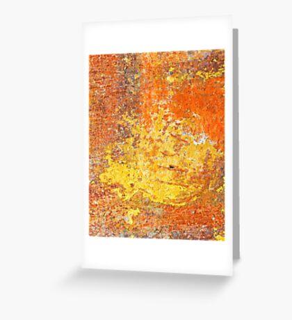 Decayed wall - iPad case by Silvia Ganora Greeting Card
