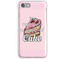 cake lyrics iPhone Case/Skin