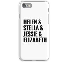 AOII Founders iPhone Case/Skin