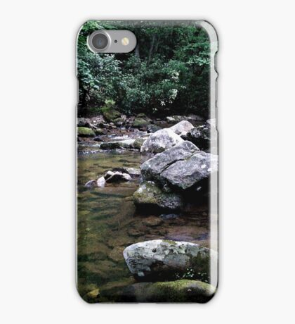 River on the Rocks iPhone Case/Skin