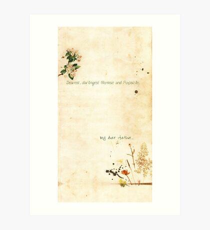 Dear... Art Print