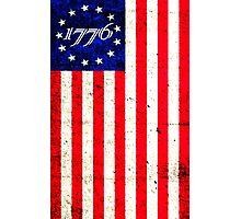 1776 Patriot  Photographic Print