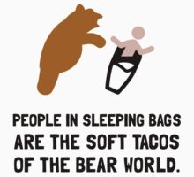 Soft Tacos Bear Kids Clothes