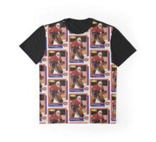 Patrick Roy Rookie Card Graphic T-Shirt