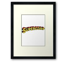 Supercorp Framed Print