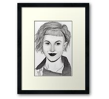 Hayley Williams - Portrait Framed Print