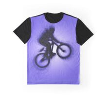 Digitally enhanced image of a bicycle stunt  Graphic T-Shirt