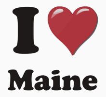 I Love Maine by ColaBoy