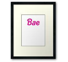 Bae Framed Print