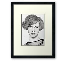Hayley Williams - Portrait2 Framed Print