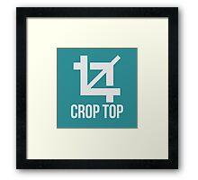'Crop Top' Framed Print