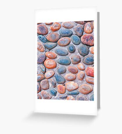 Pebbles - iPad case by Silvia Ganora Greeting Card