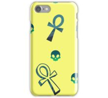 Blue Ankhs iPhone Case/Skin