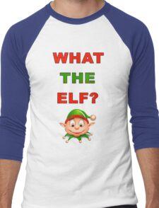 What The Elf Men's Baseball ¾ T-Shirt