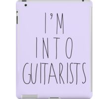 I'm Into Guitarists iPad Case/Skin