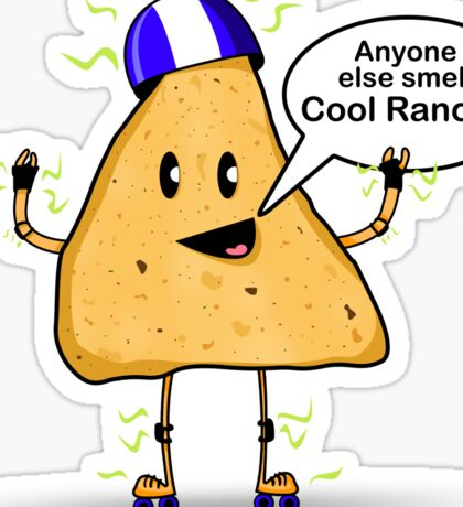 Anyone Smell Cool Ranch?  Sticker