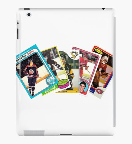NHL Rookie Lords of the 80s iPad Case/Skin