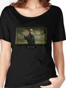 Matrix Attitude Stopping Bullets - Keanu Reeves Women's Relaxed Fit T-Shirt