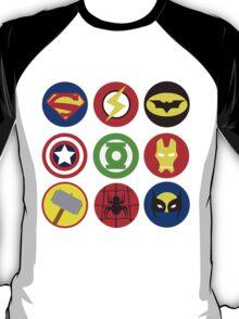 SUPERHEROES´ LOGOS T-Shirt