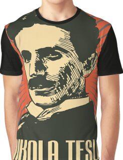Nikola Tesla Poster Graphic T-Shirt