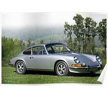 1972 Porsche 911B Coupe II Poster