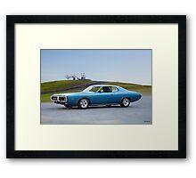 1972 Dodge Charger Framed Print