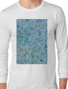 Brush Pattern (Watercolor) Long Sleeve T-Shirt