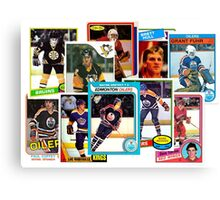 NHL Legends of the 80s Canvas Print